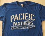 Adult Pacific Panther T-Shirt - Blue