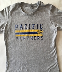 Women's Pacific T-Shirt with Stripe - Grey
